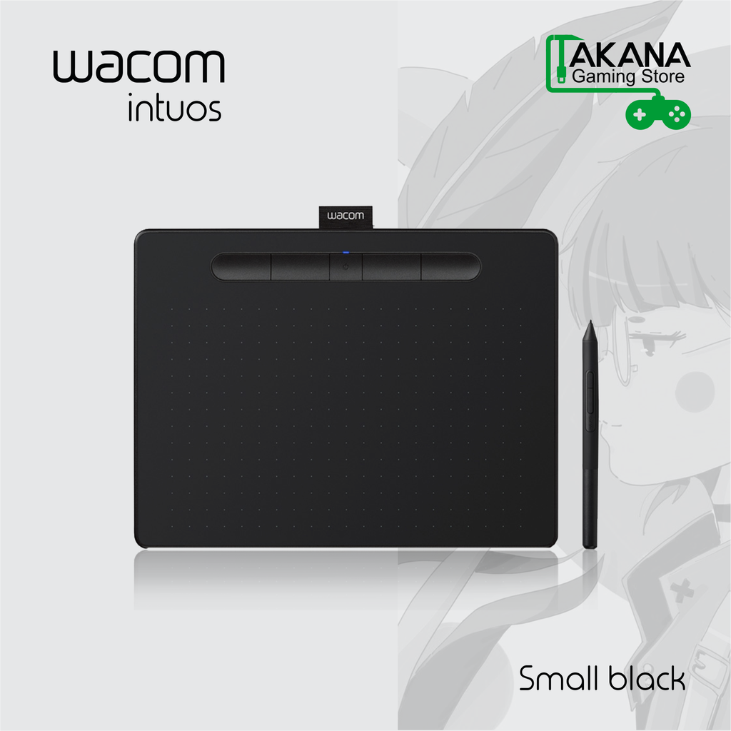Tableta Grafica Wacom Intuos Creative CTL4100 Small-Black