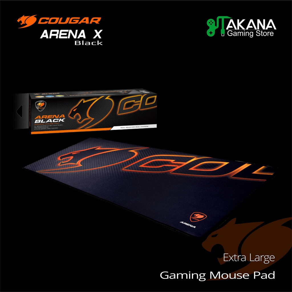 Pad Mouse Cougar Arena X Balck Extra Large